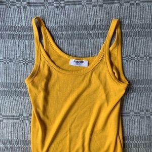 Sunny Yellow Tank